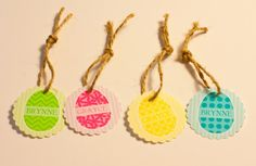 Free editable Easter tags from @Anders Ruff Custom Designs just download and type in your name.  Print on our full sheet card stock material featured here http://www.onlinelabels.com/OL267.htm