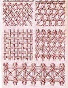 Cestería en papel de periódico (cestería china) Weaving Designs, Weaving Projects, Weaving Patterns, Paper Basket Weaving, Willow Weaving, Newspaper Basket, Newspaper Crafts, Diy Crafts Hacks, Diy And Crafts