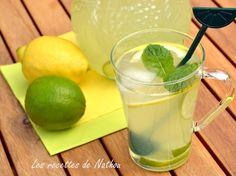 Homemade lemonade: the best recipe express and easy Mojito Cocktail, Homemade Lemonade, Milkshake, Healthy Drinks, Easy, Beverages, Good Food, Food Porn, Brunch