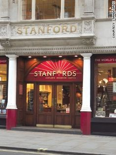Stanfords Bookstore in the heart of Covent Garden in London is one of the world's finest travel book shops.