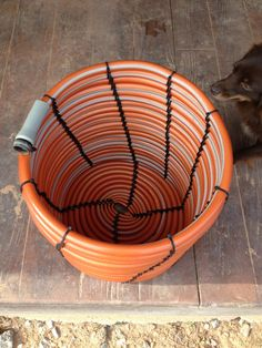 We go through several garden hoses each year.   There is a 200 foot stretch from the hydrant, in the front of our yard, to Drewman's chicke...
