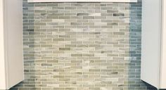 This grey wall tile, made from recycled glass by Sonoma Tilemakers (and called Vihara Minka) has such gorgeous tones and movement.  What a beautiful, yet simple, way to make a kitchen or bathroom wall really stand out!