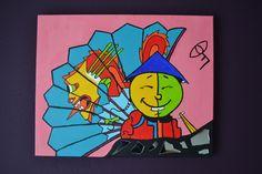 Chinese Vreugde 40x50