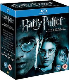 Blu-ray  harry potter 1 to 8 #complete movie #boxset new #sealed uk version,  View more on the LINK: http://www.zeppy.io/product/gb/2/400693370566/