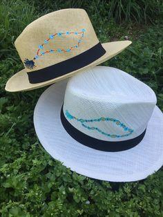 Cotton Prince handpainted Panama hats! summer 2017