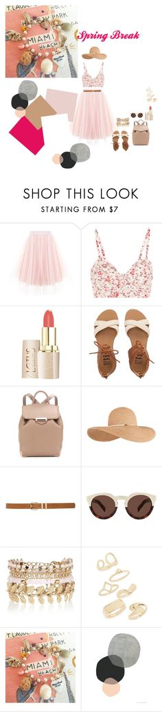 """""""Spring Break in Miami cant wait"""" by slayedbyk on Polyvore featuring Etro, Billabong, Alexander Wang, Eugenia Kim, M&Co, Illesteva, River Island, Topshop, cantwait and countdown"""