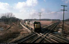 RailPictures.Net Photo: EL 3324 Erie Lackawanna GE U36C at North Judson, Indiana by Sam Beck