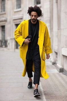 New fashion mens casual streetwear menswear Ideas London Fashion Weeks, New Fashion, Trendy Fashion, Fashion Trends, Fashion Clothes, Fashion Spring, Style Fashion, Fashion Black, Jackets Fashion
