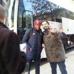 Les chasseurs d'autographes sont à la sortie des joueurs du @SMCaen #ASNLSMCpic.twitter.com/DqNAajFNqP