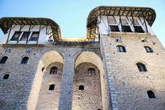 Albanian architecture SHTEPIA E ZEKATEVE - GJIROKASTER