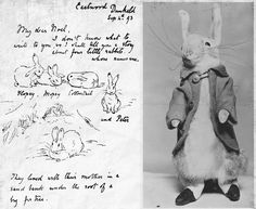 Peter Rabbit made by B. Potter 1903