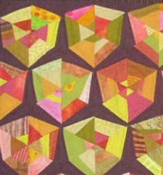 Victorian Puzzle quilt at Barbara Brackman's