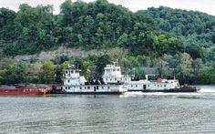 Towboats | The diesel towboats 'Tensas' and 'M.K. McNally' p… | Flickr