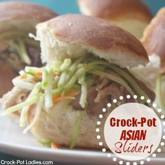 Crock-Pot Asian Sliders - These are amazing!