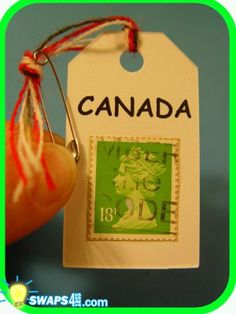 CANADA Canadian Stamp Swap - Scout SWAPS Girl Craft Kit - Swaps4Less