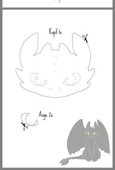 Night Fury: Plush Toothbrush and Step by Step Tutorial – MyKingList … Night Fury: Plush Toothbrush and Step by Step Tutorial – MyKingList …, # Plush Best Picture For make up night party red lip Toothless Party, Toothless Dragon, Felt Dragon, Dragon Mask, Dragon Birthday Parties, Dragon Party, Felt Patterns, Stuffed Toys Patterns, Felt Diy