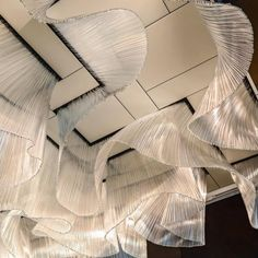 Shipping Party at Nikolas Weinstein Studios by Telstar Logistics, Interior Lighting, Lighting Design, Interior Architecture, Interior And Exterior, Ceiling Installation, Ceiling Treatments, Luminaire Design, Ceiling Design, Retail Design