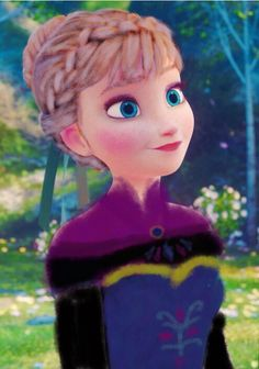 I made an edit if Anna to look like elsa