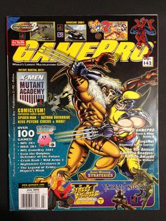 Gaming Magazines, Video Game Magazines, Classic Video Games, Retro Video Games, Game Spider Man, I Love Games, Man Games, The Uncanny, School Games
