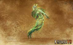 Sylvan Dryad | Might & Magic® Heroes 7