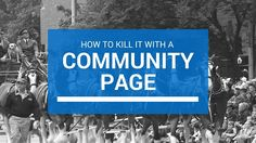 Tips for real estate agents and brokers when creating real estate community pages for your real estate website.