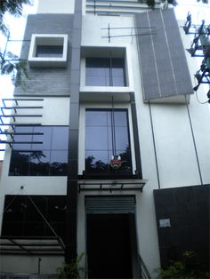 Front Elevation Design of GAEA Engineer's Commercial Complex in Bangalore