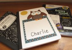 Give your journals a facelift with these free printable journal covers.