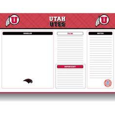 "Utah Utes 22"" x 17"" Desk Pad - $16.99"