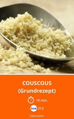 Couscous - (Grundrezept) - smarter - Kalorien: 212 Kcal - Zeit: 10 Min. | eatsmarter.de