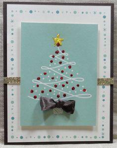 Sandy's alternate to our Christmas Card Class (Dec 2015)