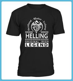Best HELLING Original Irish Legend Name front Shirt (*Partner Link)