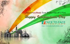 Facetofacestudy Team Wishes you a Happy Independence Day 2015 15th August #IndependenceDay‬ #happyIndependenceDay‬  #69thHappyIndependenceDay‬ #15thAugust2015‬ ‪ #15thAugust1947‬
