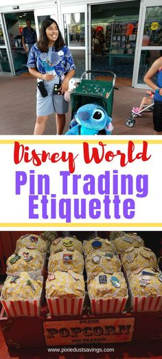 New Ideas-- New Ideas – Pin Trading Etiquette Disney Pin Trading Etiquette Disney World Pin Trading Etiquette. How to trade Disney pins with cast members. Vacation World Pins - Disney World Tickets, Disney World Vacation Planning, Disney World Parks, Walt Disney World Vacations, Trip Planning, Disney Travel, Disney Worlds, Disneyland Vacation, Disney Pin Trading