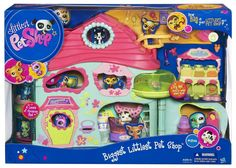 Amazon.com: Littlest Pet Shop Biggest Littlest Pet Shop (New): Toys & Games