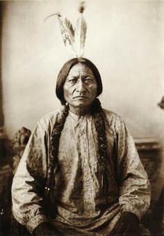 Sitting Bull, however (pictured) refused to order his people to stop dancing, and in consequence was arrested and killed, an act that led two weeks later to the infamous massacre at Wounded Knee, where 153 Sioux Indians, mostly women and children, were needlessly slaughtered by the US Army.    But the Indian spirit was not slaughtered with them. The Ghost Dance continues to this day, and to some large extent the hopes of many Native Americans remain pinned to the prophecy that spawned it…