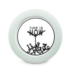 BigOwl   Time is Now Motivational Quote Table Clock Online India at BigOwl.in