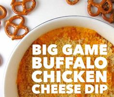 Big Game Buffalo Chicken Cheese Dip Recipe by YAYitsKate