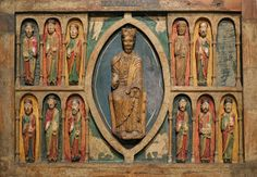Romanesque Art, Anonymous, Circa 1200 (repainted 1579), MNAc, Barcelona