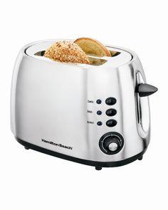 Hamilton Beach 2-Slice Toaster – Brushed Metal Model # 22504