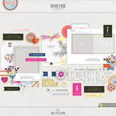 New Release | Irvine Park | One Little Bird Designs