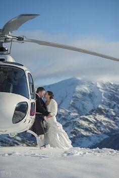 Heli-Wedding Image from Wedding New Zealand, Snow Wedding, Perfect Wedding, Wedding Planner, Places To Go, Scenery, Wedding Inspiration, Wedding Photography, Winter Weddings