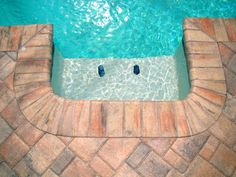Nothing like a cool pool to wash off the day. Especially in this Florida heat!  Call us for a FREE estimate and get your summer patio/pool decks started with us! www.superiorbrickpavers.com