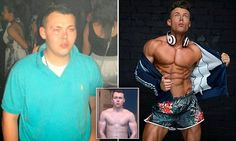 A 17st man called 'fat b*****' by bullies becomes an underwear model