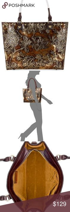 da8d1e1063bd Patricia Nash Metallic Zancona Tote This is a gorgeous bag! Metallic. Medium  Sized BagsPatricia ...