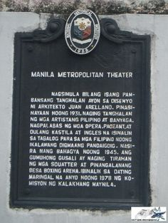 Screaming Metropolitan Theater Intramuros, Scream, Philippines, Theater, History, Theatres, Teatro, Historia, Drama Theater