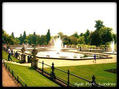 #ConcursoBFA Uma dica para quem vai a Londres é visitar o Hyde Park, onde fica o Memorial da Princesa Diana. Esse parque parece um playground super divertido. Lá, é possível fazer um passeio em um navio encalhado, molhar os pés em uma fonte e se divertir em bancos de areia e muitas outras atrações.