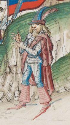 Diebold Schilling, Amtliche Berner Chronik, Bd. 3 Bern · 1478-1483 Mss.h.h.I.3  Folio 659