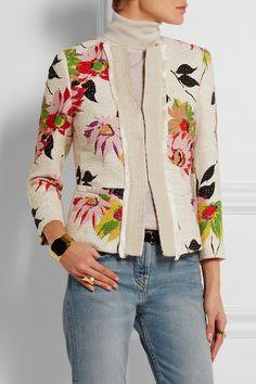 Etro   Floral-print cotton-blend jacket   NET-A-PORTER.COM, $1810, 87/6/5/2 cotton poly viscose polyamide