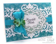 The Stamp Simply Ribbon Store - Heartfelt Thanks - designed by Sheri Holt