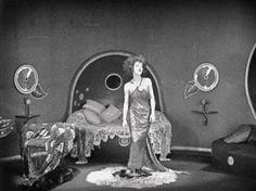 Nazimova in Camille. Set design by Natacha Rambova.